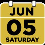 Saturday June 5th